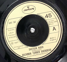 "BACHMAN TURNER OVERDRIVE-Shotgun Rider-7"" 45rpm Record-Mercury-6167 567-1977"