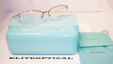 New Authentic TIFFANY & CO. RX Eyeglasses Slr Pink Half Rim/Clr TF1102 6001 55