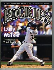 1995 Colorado Rockies MLB Baseball Magazine Volume 3 #3 Program