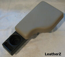 BMW Z3 M Roadster Coupe Leather Armrest Cupholder! Beige Tan Leather!