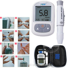 Blood Glucose Glucometer Blood Sugar Meter Monitor Diabetes+Test strips,lancets