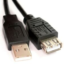 5m USB 2.0 High Speed Cable EXTENSION Lead A Male Plug to Female Socket