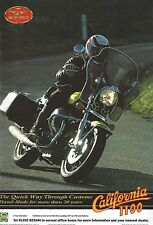 Moto Guzzi 1100 California - a Genuine 1995 'What Bike' Magazine Advertisement