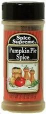 Spice Supreme Pumpkin Pie Spice - Lot of 12 - New, Sealed - Free Shipping & more