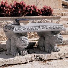 Medieval Gothic Castle Gargoyle Table Garden Bench replica reproduction