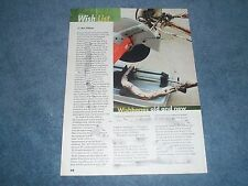 """2008 Tech Info Article on Ford Wishbone Suspension """"Wishbones Old and New"""""""