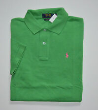 NWT Men's Ralph Lauren Short-Sleeve Polo Shirt, Green, Classic Fit, L, Large