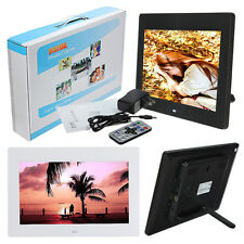 10'' inch TFT-LCD Digital Photo Movies Frame MP4 Player Alarm Clock + Remote