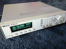 HP AGILENT 8110A PULSE GENERATOR 150 MHz OPTIONS 81103A, 81103A, 81107A