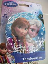 New Disney FROZEN Toy Musical TAMBOURINE Elsa Anna Children Gift