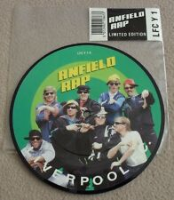 "LIVERPOOL FC - ANFIELD RAP picture disc 7"" vinyl single record - nr MINT!"
