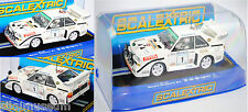 SCALEXTRIC C3480 Audi Sport Quattro S1 E2 Gruppe B Rallye UlsterMouton Pons 1:32