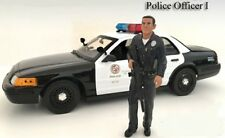 American Diorama 1/18 LAPD Style Police Officer Figure #1 - Great for Dioramas!