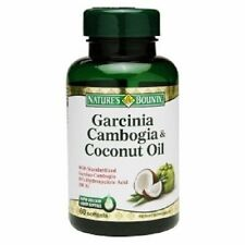 Nature's Bounty Garcinia Cambogia & Coconut Oil Softgels