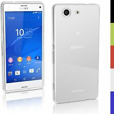 Ultra Slim Transparent Hard Plastic Back Case Cover For Sony Xperia Z3 Compact