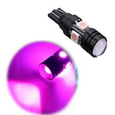 2 X T10 W5W Purple 194 LED 5050 SMD CANBUS ERROR FREE Car Side Wedge Light Bulb