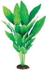 Aqua One A1-24134 Silk Plant Amazon Sword Broad Leaf 40cm For Freshwater Tank
