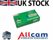 5 Pack: Fuji Velvia 50 RVP ISO 50 Size 120 Color Slide Film, New