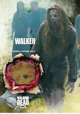 The Walking Dead 5 temporada Disfraz reliquia tarjeta Walker (a)