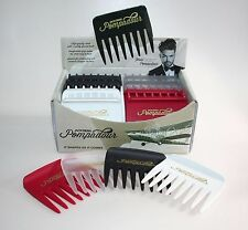 JACK DEAN (BY DENMAN) MALE GROOMING POMPADOUR STYLE COMBS STREAKER 8 TEETH