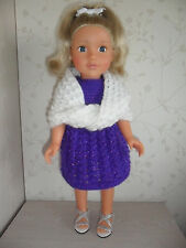 Hand knitted clothes for American Girl /Designafriend or similar Doll