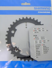 Shimano 105 FC-5800 Chainring 36T for 52-36T, Black, 11 Spd, FC-6800 Usable