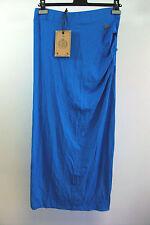 Hv polo bleu capri maxi jupe taille 38/petit Box1415 h