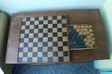 19th Century Draughts / Chequerboard / Chess / Games Board