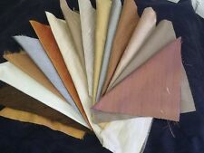 PURE SILK FABRIC CRAFT PACK REMNANTS 15 Neutral colours
