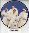 """EAST 17 Stay Another Day PICTURE DISC 7"""" 45 rpm record + juke box strip RARE!"""