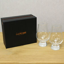 The Glencairn Official Whisky Nosing Glass - Set of 2 (Black Presentation Box)