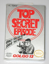 Golgo 13: Top Secret Episode (Nintendo Entertainment System, 1988) FACTORY SEAL