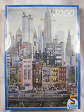 NEW Schmidt 3000 Piece Puzzle New York City Street Scene Sealed Made in Germany