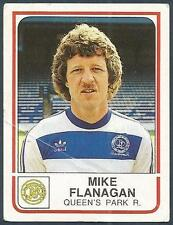 PANINI FOOTBALL 84-#225-QUEENS PARK RANGERS-MIKE FLANAGAN