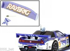 'New' Scalextric W9302 Honda NSX Rear Wing Spoiler, Mirrors & Aerial For (C2720)