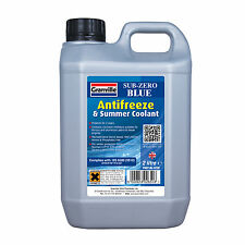 Granville Sub Zero BLUE Car Antifreeze Summer Coolant Concentrate Long Life 2L