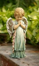 Praying Angel Cherub Pastel Garden Statue Indoor/Outdoor Decor