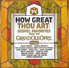 How Great Thou Art: Gospel Favorites Live From The Grand Ole Opry Various Artis