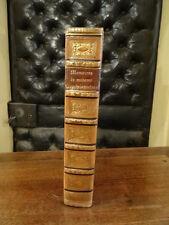 Mémoires de la marquise de la rochejaquelein Maroquin 1823 ex libris armes