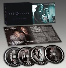 THE X-FILES Volume Three 4-CD Box Set MARK SNOW La-La Land TV Soundtrack LTD!