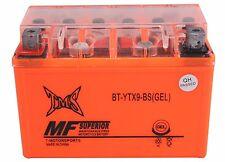 Sealed GEL Battery YTX9-BS for 2003~2010 Suzuki ATV LTZ 400 LTZ400 250 QuadSport