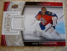 2013-14 UD Game Jersey#GJ-TH Jose Theodore Jersey Card