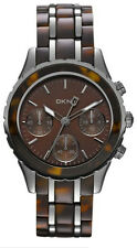 DKNY NY8709 Brooklyn Chronograph Resin Women's Watch - New & Authentic