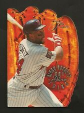 ~ 1994 Flair Kirby Puckett ~ Hot Glove ~ Die Cut Insert Card ~ MLB Baseball ~