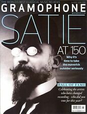 GRAMOPHONE Magazine June 2016 SATIE AT 150 Hall of Fame CLASSICAL MUSIC REVIEWS