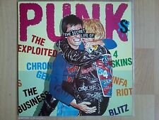 V/A - The Secret Life Of Punks ( Exploited, 4 Skins, INFA Riot..) - Vinyl LP