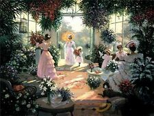 TEA IN THE CONSERVATORY by Christa Kieffer ~SALE~