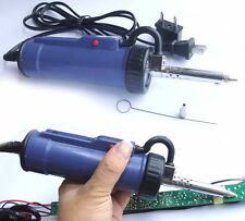 New 30W 220V 50Hz Electric Vacuum Solder Sucker /Desoldering Pump / Iron Gun
