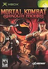 Mortal Kombat: Shaolin Monks ORIGINAL XBOX GAME ONLY (nap)