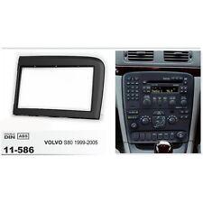 Dash Mount Trim Kit Frame Fascia Stereo for Volvo S80 1999 2000 01-05 2 Din